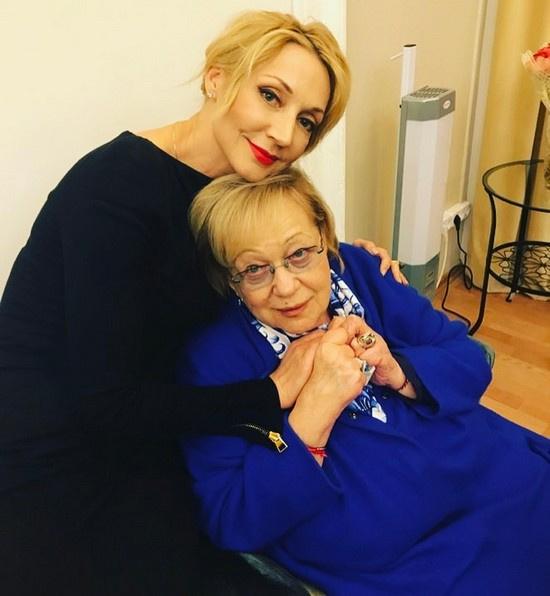 Кристина Орбакайте и Галина Волчек