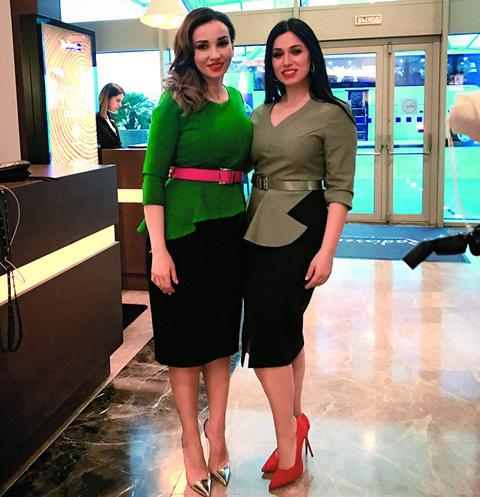 Марина Малашенко и Анфиса Чехова