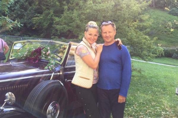 Мария и Денис выглядели абсолютно счастливыми рядом друг с другом
