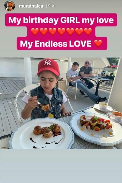 Экс-супруг Ани Лорак встретился с дочерью на следующий день после ее праздника
