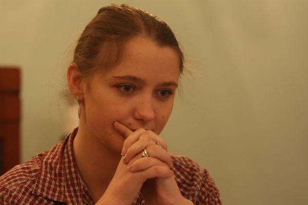 Наталья размышляет над образом