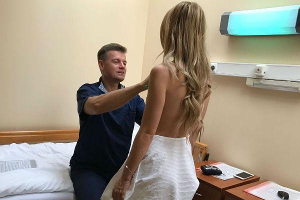 К хирургу обращалась Анна Городжая