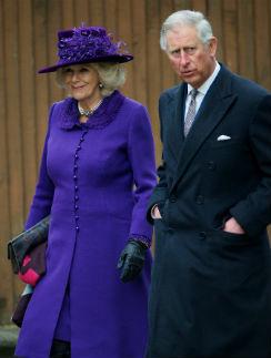 Камилла и принц Чарльз