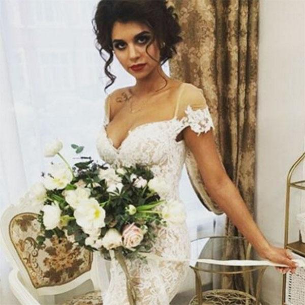 Алиана Гобозова блистала в день свадьбы