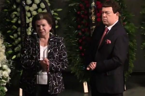 Валентина Терешкова и Иосиф Кобзон выразили соболезнования родственникам музыканта
