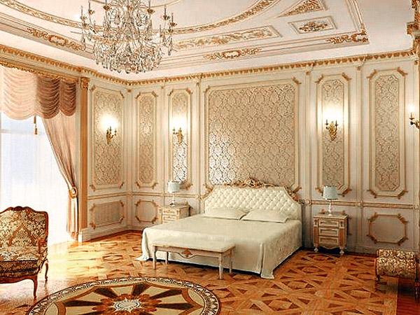 Макет будущей спальни Распутиной
