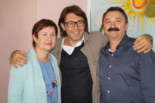 Появление Андрея Малахова стало большой неожиданностью для работников роддома