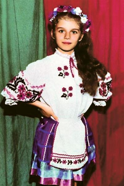 Седокова с детства любила выступать на сцене