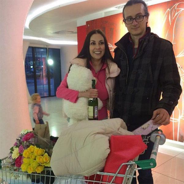 Татьяна Найник и ее муж Александр