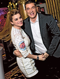 Ксения Бородина с мужем Курбаном Омаровым