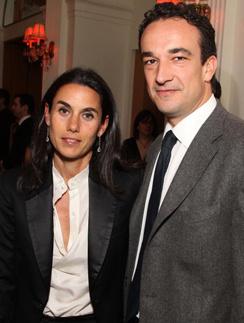 Оливье Саркози с бывшей женой Шарлоттой