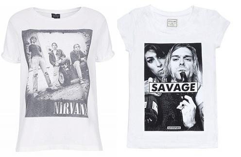 Слева футболка Top Shop, справа Eleven paris (Brand in Trend)