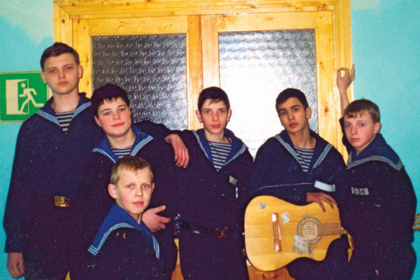 Данила вместе с товарищами часто устраивал концерты