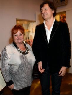 Арина с мужем Владимиром Майданюком