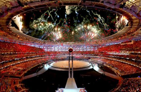 Церемония открытия первых Европейских игр
