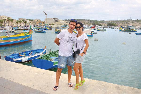 Ани Лорак и Мурат Налчаджиоглу поженились 15 августа 2009 года