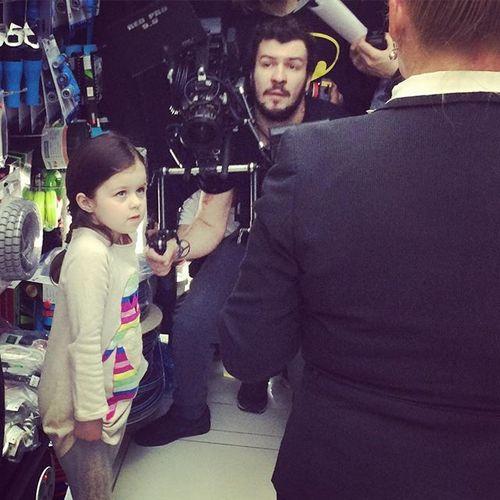 По словам Виктории Богатыревой, режиссер остался доволен работой молодой актрисы