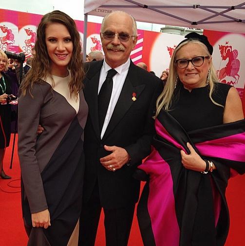 Кира Пластинина, Никита и Татьяна Михалковы