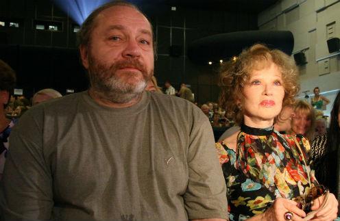 Людмила Гурченко с последним мужем Сергеем Сениным