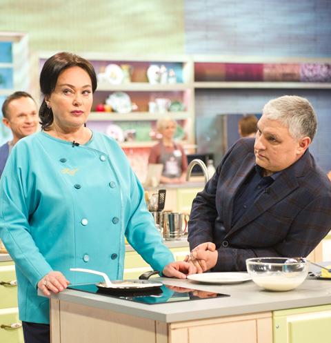 Лариса Гузеева с мужем Игорем Бухаровым