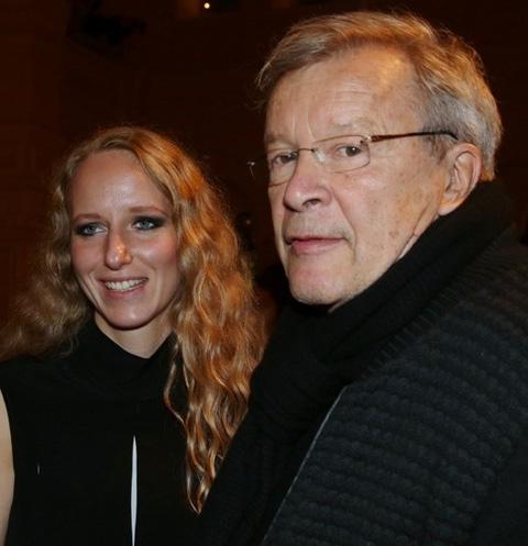Виктор Ерофеев с женой Екатериной