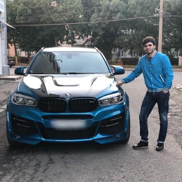 В роковую ночь Гаджиев находился за рулем этой машины