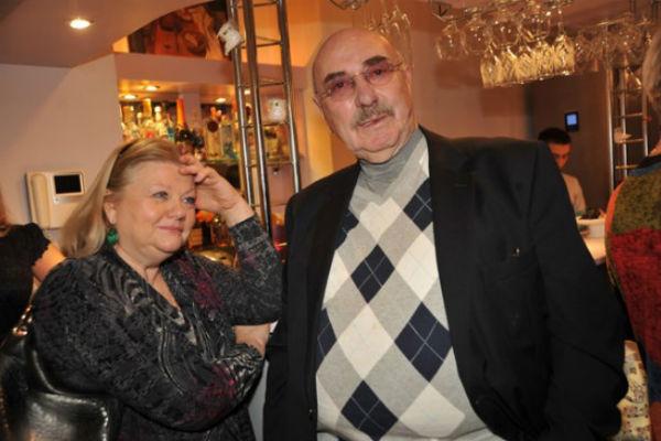 Ирина Муравьева с мужем режиссером Леонидом Эйдлиным