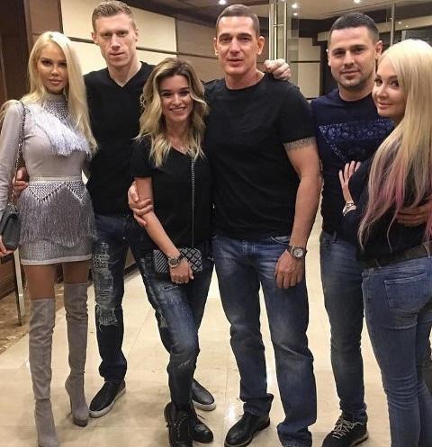Мария и Павел Погребняк, Ксения Бородина и Курбан Омаров, Дарья и Сергей Пынзарь
