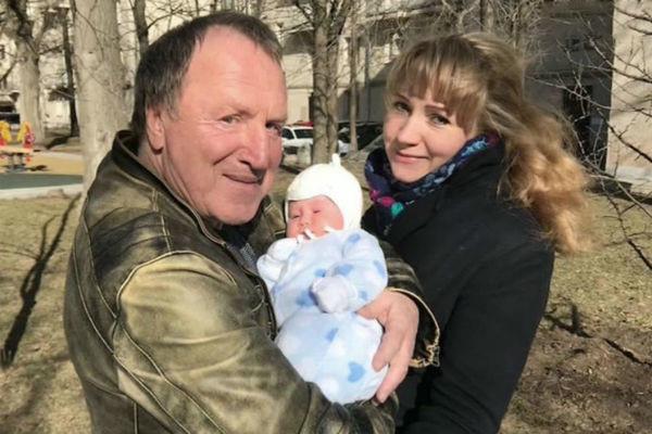 Владимир Стеклов стал отцом в третий раз