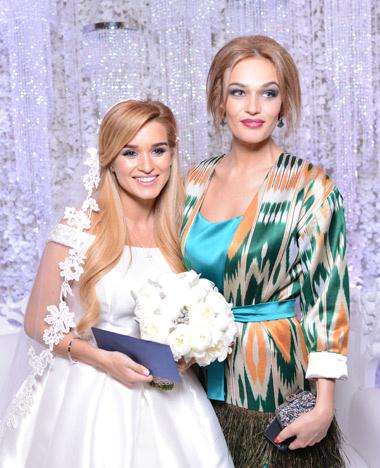 Звездные гости на свадьбе Ксении Бородиной и Курбана Омарова