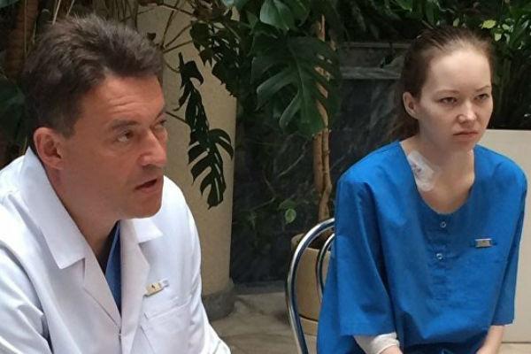 Дарья Старикова проходила лечение в Москве