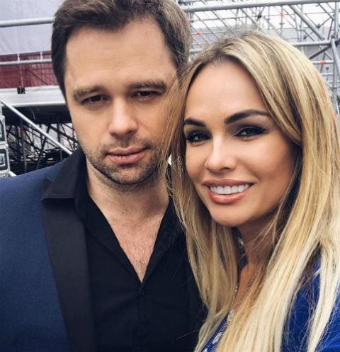Виталий Гогунский с супругой Ириной Маирко