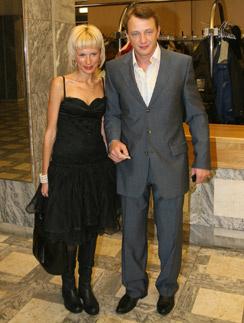 Марат Башаров с бывшей женой Елизаветой Круцко
