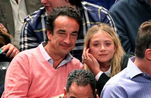 Оливье Саркози и Мэри-Кейт Олсен
