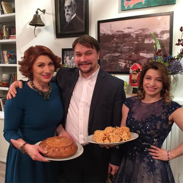 На программу Роза Сябитова и ее дети пришли со своим угощением