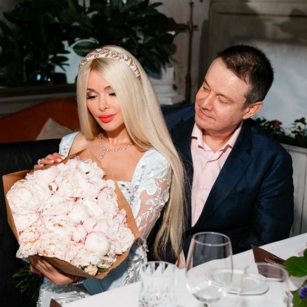 Алена Кравец с мужем