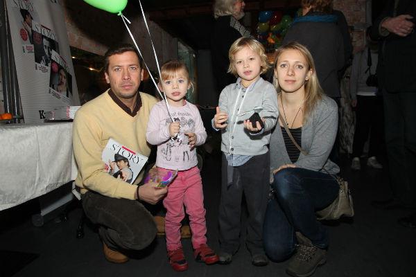 Семья артиста с нетерпением ждала появления на свет малыша