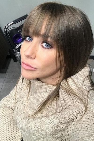 Юлия Барановская похвасталась новой прической