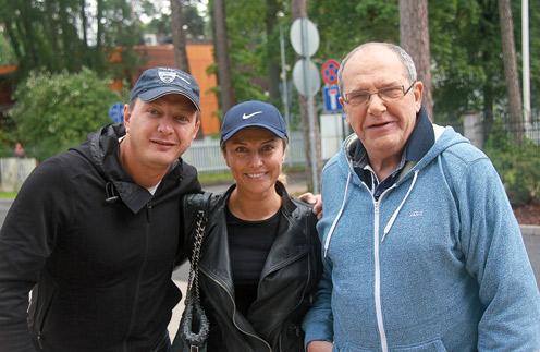 Марат Башаров, Екатерина Архарова и Эммануил Виторган
