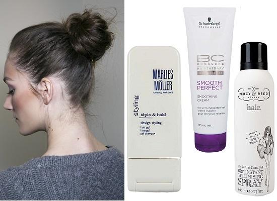 Marlies Moller Гель для укладки Style&Hold, Schwarzkopf Professional Термозащитный разглаживающий крем для волос BC Smooth Perfect, Percy&Reed Спрей для объема волос