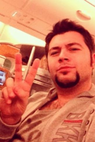 Алексей начал свой фоторепортаж еще в самолете