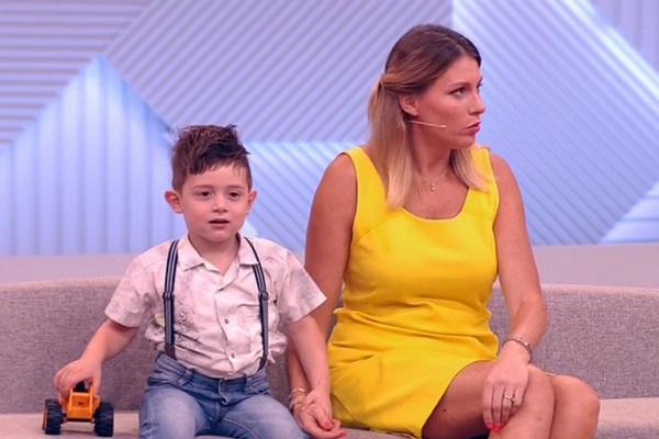 Екатерина представила сына широкой общественности