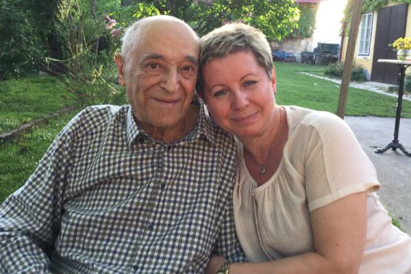 Владимир Абрамович с женой Еленой