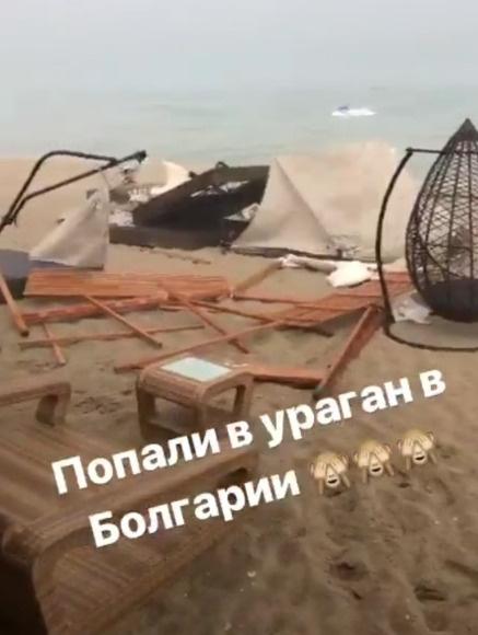 Рудковская попала в эпицентр природной стихии