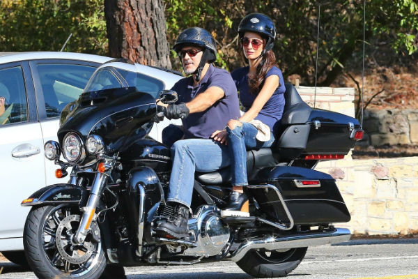 Актер всегда обожал мотоциклы