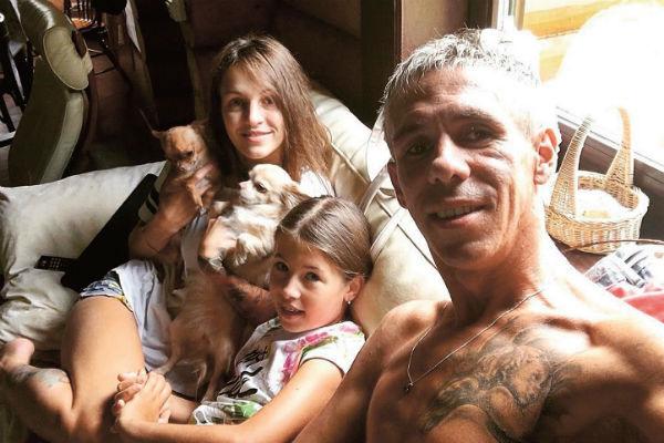 Этим летом Нюся с папой и его новой девушкой Ольгой отдыхали в Крыму