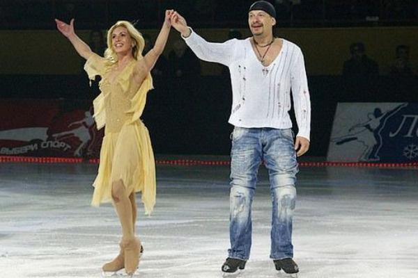 Дмитрий Марьянов с Ириной Лобачевой