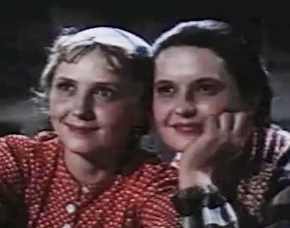 Актриса в картине «Свадьба с приданым» (1953 год)