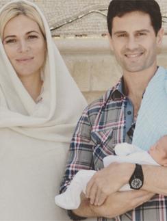 Антон и Виктория Макарские с сыном Ваней