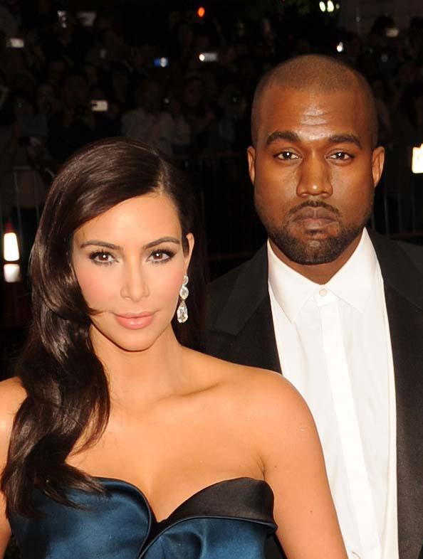 Ким Кардашьян и Канье Уэст теперь семейная пара